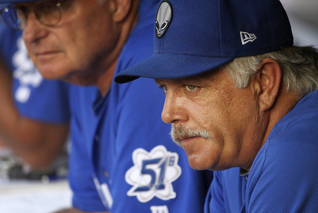 51s manager Wally Backman (Jason Bean/Las Vegas Review-Journal File)