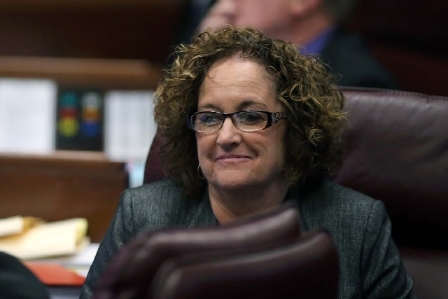 State Sen. Debbie Smith, D-Sparks. (File/Las Vegas Review-Journal)