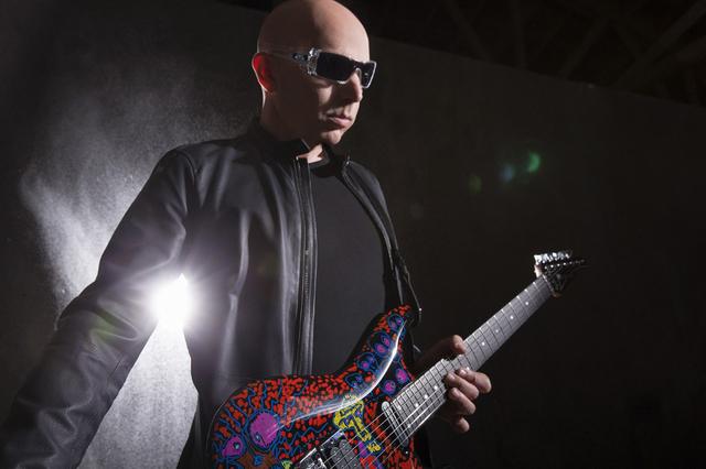 Joe Satriani (Courtesy Chapman Baehler)