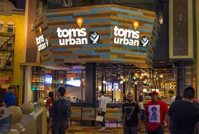 Tom's Urban inside New York-New York in Las Vegas on Saturday, May 23, 2015. (Joshua Dahl/Las Vegas Review-Journal)