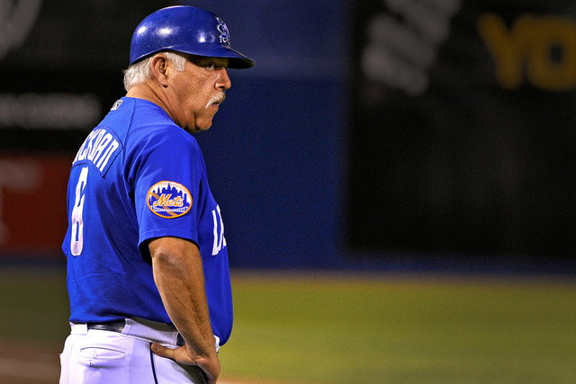 Wally Backman is the manager of the Las Vegas 51s. (David Becker/Las Vegas Review-Journal file)