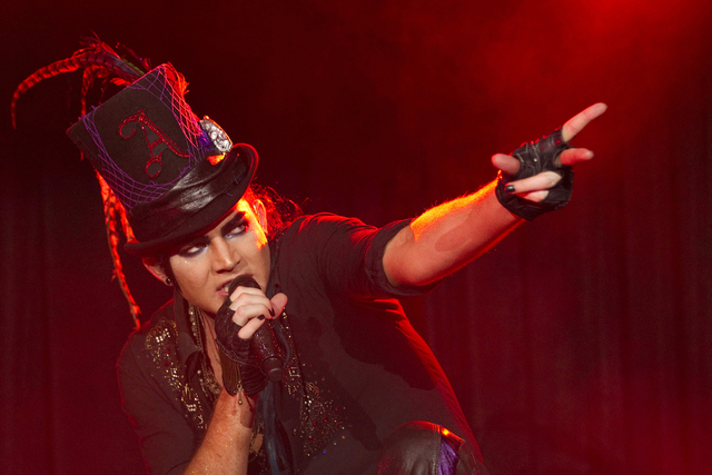 Adam Lambert will perform Friday at The Foundry at the SLS Las Vegas. Scott Audette/Reuters