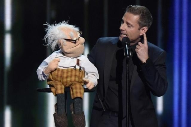 "Ventriloquist Paul Zerdin performs during the 10th season of ""America's Got Talent."" (Peter Kramer/NBC)"