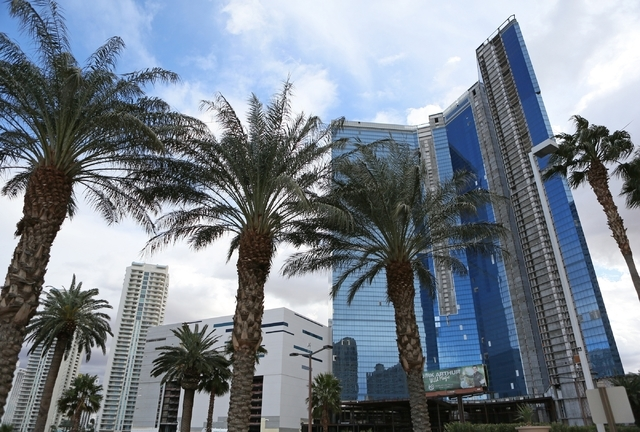 Fontainebleau Las Vegas, located at 2755 Las Vegas Blvd. South, is shown Thursday, Jan. 7, 2016, in Las Vegas. Construction began on the estimated $3 billion resort in 2007 and stopped two years l ...