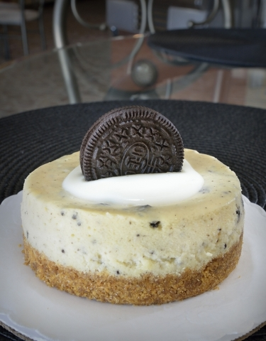 The Oreo cheesecake is shown at Gotta Love Cheesecake at 5081 N. Rainbow Blvd. in Las Vegas on Saturday, Feb. 6, 2016. Bill Hughes/Las Vegas Review-Journal