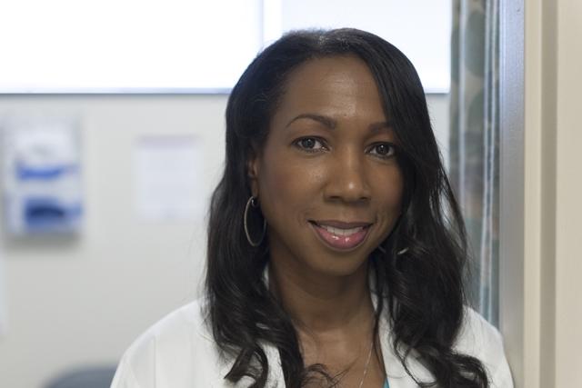 Dr. Marguerite Brathwaite poses in her Southwest Medical Associates office at 2300 W. Charleston Blvd. in Las Vegas Thursday, Feb. 11, 2016. Jason Ogulnik/Las Vegas Review-Journal