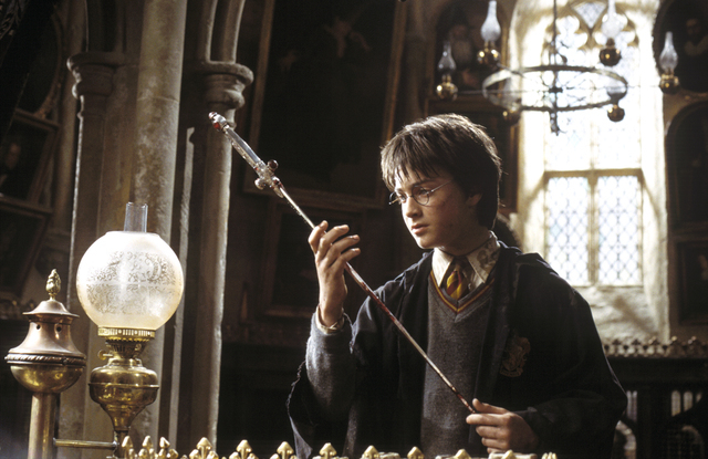 "DANIEL RADCLIFFE as Harry Potter in Warner Bros. Pictures' ""Harry Potter and the Chamber of Secrets."" REVIEW-JOURNAL FILE PHOTO  PHOTOGRAPHS TO BE USED SOLELY FOR ADVERTISING, PROMOTION, PUBLICITY ..."