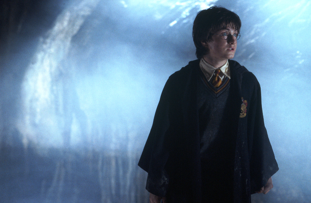 "DANIEL RADCLIFFE as Harry Potter in Warner Bros. Pictures' ""Harry Potter and the Chamber of Secrets.""   REVIEW-JOURNAL FILE PHOTO                       PHOTOGRAPHS TO BE USED SOLELY FOR ADVERTISIN ..."