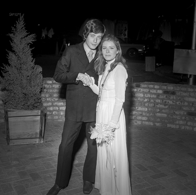 Actress Patty Duke, right, and Michael Tell pose at their wedding at the Little Church of the West in Las Vegas on June 24, 1970. The marriage lasted only 13 days, ending in annulment. Patty Duke  ...