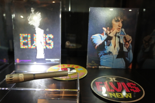 "The showroom for ""Graceland Presents Elvis: The Exhibition - The Show - The Experience"" at the Westgate Las Vegas casino-hotel in Las Vegas is seen on Thursday, April 23, 2015. ( ..."