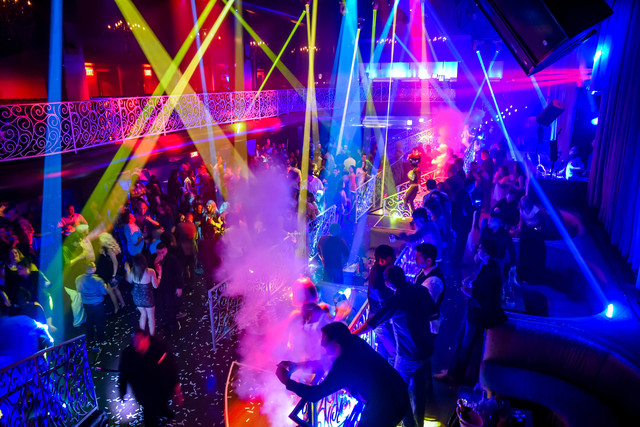 Inside LAX Nightclub at the Luxor. © Al Powers, PowersImagery.com (Courtesy/LAX Nightclub)