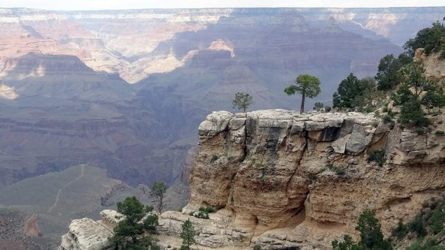 Overall view from the south Rim of the Grand Canyon near Tusayan, Arizona  August 10, 2012. REUTERS/Charles Platiau