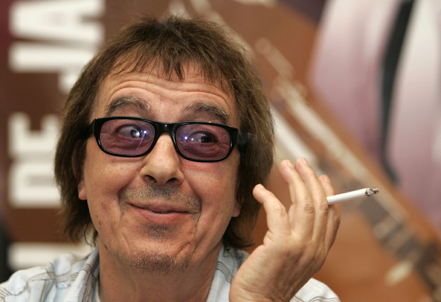 Former Rolling Stone Bill Wyman has been diagnosed with prostate cancer, according to a statement from the rock band's press office. (Reuters/Stringer/files)