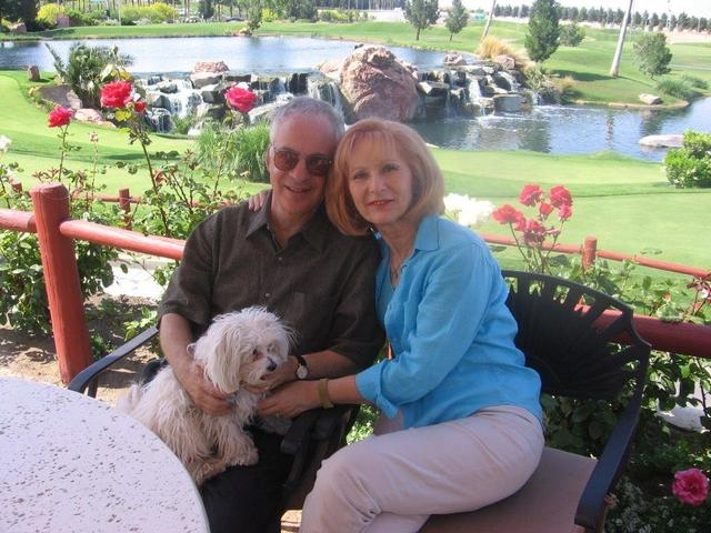 Steve Lake, a Summerlin-area resident, enjoys Las Vegas' Angel Park with his wife, Caroline, and their dog, Nica, in spring 2016. Lake has a thing for numbers and has some unusual goals, such as ...