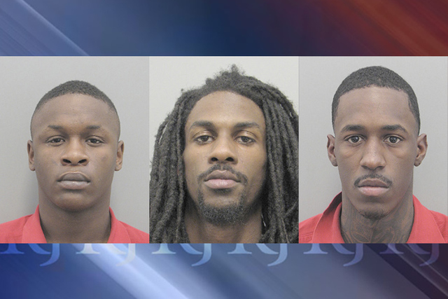 Antoine Phillips, Jalen Hall and Rayshawn Jones (Las Vegas Metropolitan Police Department)
