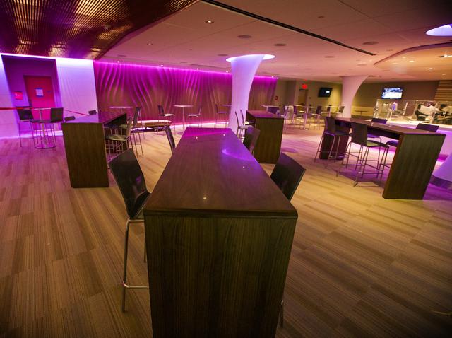 The Jack Daniel's Lounge is seen at T-Mobile Arena on Thursday, March 24, 2016. Jeff Scheid/Las Vegas Review-Journal Follow @jlscheid