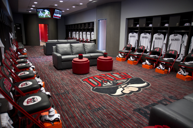 The Locker Room Is Seen During A Ribbon Cutting Ceremony For New Anthony And Lyndy