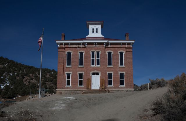 The Belmont Courthouse in Belmont, Nev., is shown on Wednesday, March 2, 2016. The courthouse was built in 1876. Randi Lynn Beach/Las Vegas Review-Journal
