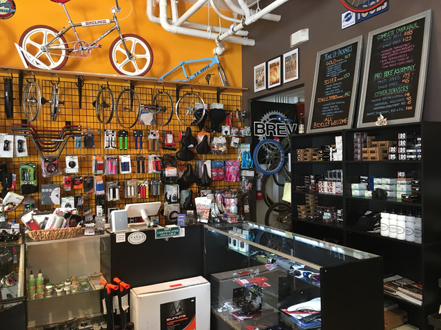 The interior of The Vault Bicycle Shop is shown Feb. 24 at 7575 Norman Rockwell Lane, No. 120. Sandy Lopez/View