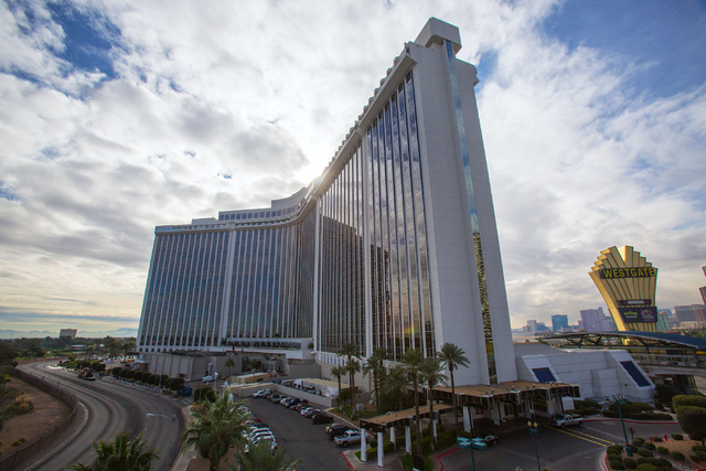 Westgate Las Vegas Resort & Casino, formerly the LVH, is photographed Tuesday, Dec. 16, 2014. (Samantha Clemens-Kerbs/Las Vegas Review-Journal)