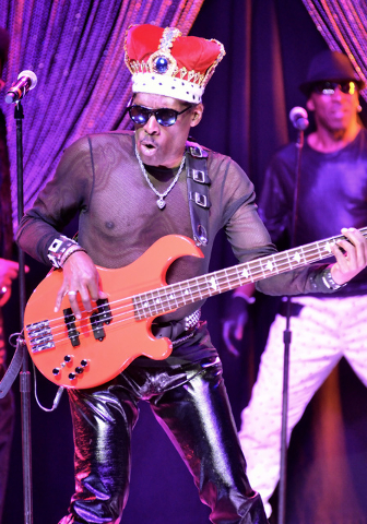 Aaron Mills of Cameo performs at the Westgate Las Vegas hotel-casino at 3000 Paradise Road on Thursday, March 10, 2016. Bill Hughes/Las Vegas Review-Journal