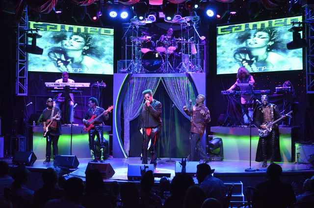 Cameo performs at the Westgate Las Vegas hotel-casino at 3000 Paradise Road on Thursday, March 10, 2016. Bill Hughes/Las Vegas Review-Journal