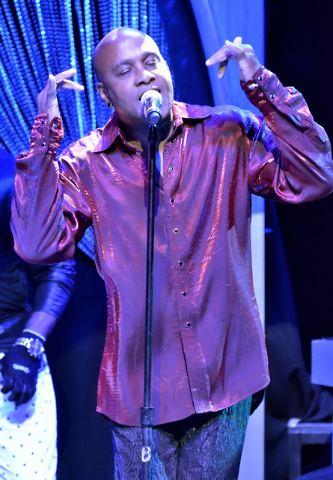 Tomi Jenkins of Cameo performs at the Westgate Las Vegas hotel-casino at 3000 Paradise Road on Thursday, March 10, 2016. Bill Hughes/Las Vegas Review-Journal