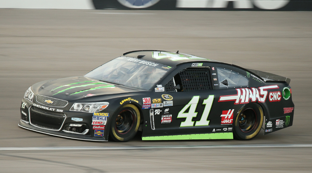 NASCAR Sprint Cup Series driver Kurt Busch drives during qualifying for the Kobalt 400 at Las Vegas Motor Speedway in Las Vegas Friday, March. 4, 2016. Josh Holmberg/Las Vegas Review-Journal