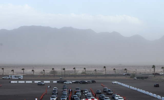 Wind Makes For Crazy Day Of Racing In Kobalt 400 Las