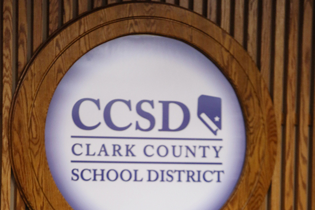 Clark County School District. (Ronda Churchill/Las Vegas Review-Journal)