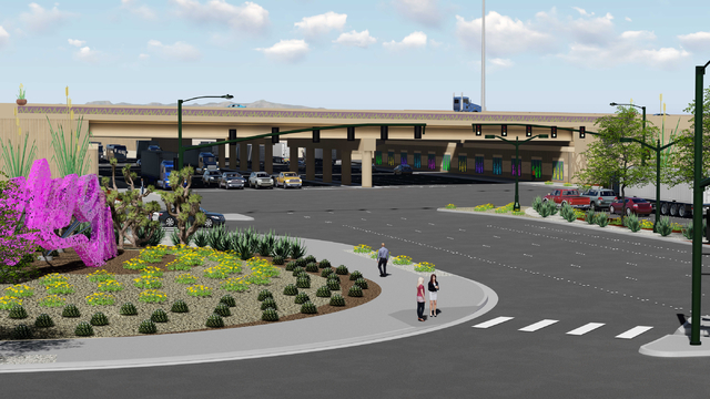 The Charleston Boulevard exit of Interstate 15 will be redesigned to a traditional diamond exit that will reduce congestion on Martin Luther King Boulevard and provide better access to Symphony Pa ...