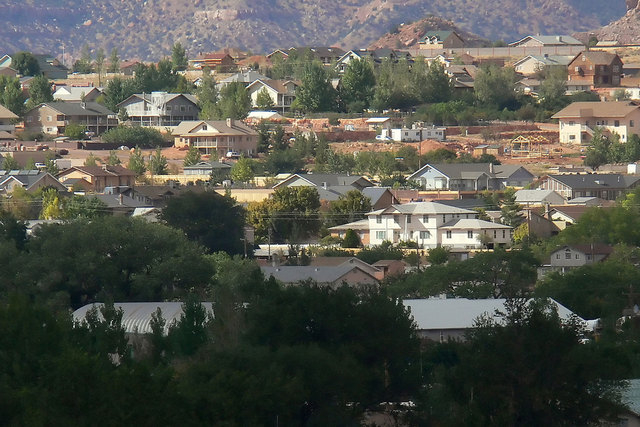 Colorado City, Arizona, is shown in this 2006 file photo. Seth Jeffs, the brother of well-known Fundamentalist Church of Jesus Christ of Latter Day Saints leader Warren Jeffs and one of the polyga ...