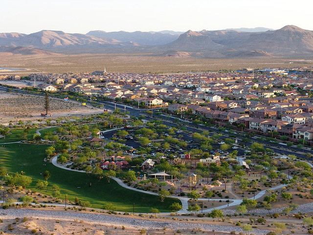 Mountain's Edge is a master-planned community in the southwestern valley. According to the Multiple Listing Service, 60 percent of all Las Vegas homes have a homeowners association, many are in ma ...