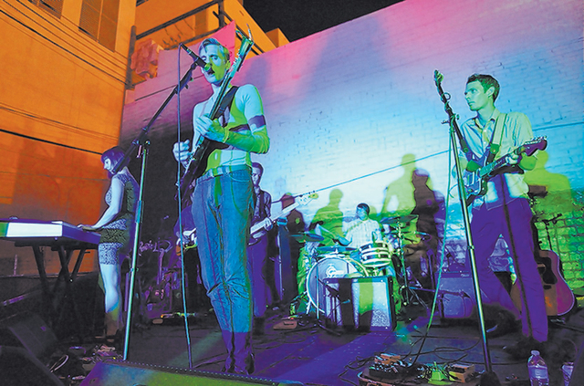 A Crowd of Small Adventures plays the Beauty Bar during the fall 2012 edition of Neon Reverb. (Courtesy)