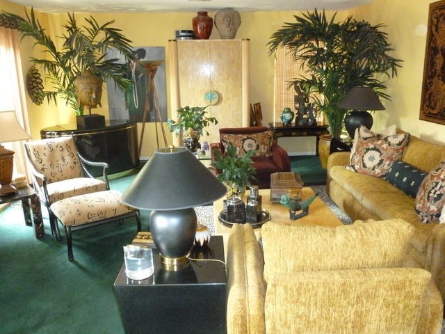 COURTESY The Mixture Of Contemporary Furniture Designs Along With Numerous  Asian Artifacts Collected From Trips Overseas