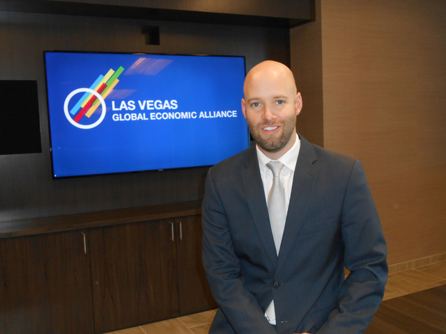 Jonas Peterson, president and CEO of the Las Vegas Global Economic Alliance. Linda J. Simpson/Special to View