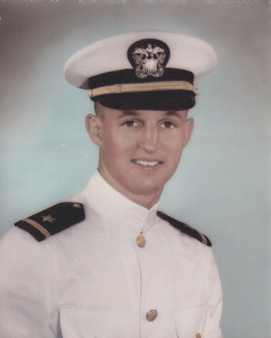 Navy Lt. Donald E. Williams flew combat missions during the Vietnam War. (Courtesy Ann Small-Williams)