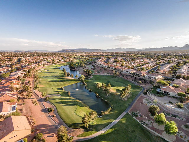 An overview of Eagle Crest Golf Course, 2203 Thomas W. Ryan Blvd., shows holes Nos. 4 and 5. Special to View