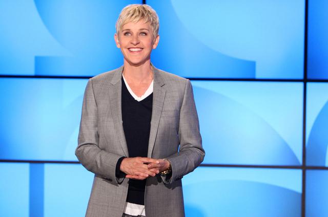 Ellen DeGeneres is shown in an undated file photo. (Courtesy, The Ellen DeGeneres Show)