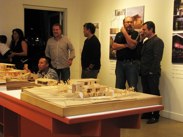 The exhibition at the Brett Wesley Gallery is shown during Preview Thursday March 3. F. Andrew Taylor/View