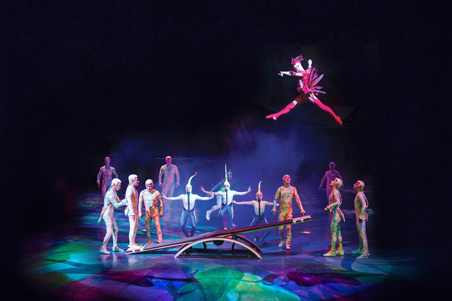 "Cirque du Soleil invites visitors and locals to get an inside look at ""Mystere"" from 3 to 3:45 p.m. Saturdays and 5 to 5:30 p.m. Sundays. Special to View"