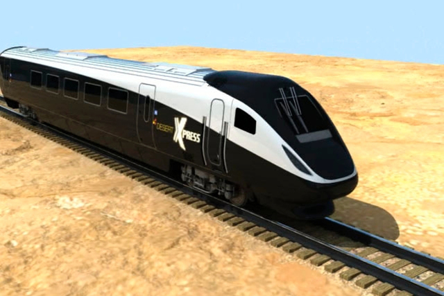 A bill introduced in Congress and backed by Nevada's congressional delegation would remove red tape and promote the best route for XpressWest's proposed high-speed rail project connecting Las Vega ...