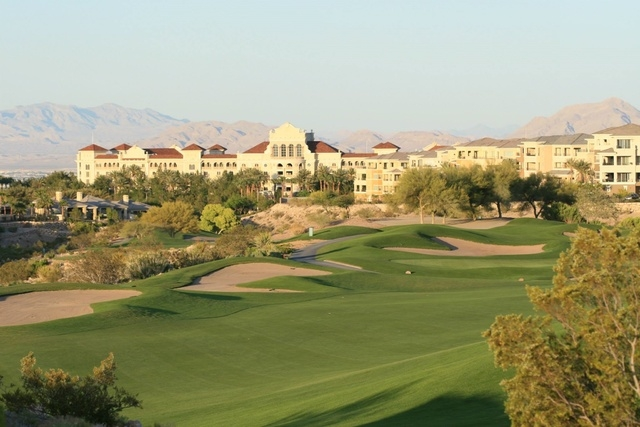 TPC of Las Vegas, facing the Marriott Resort. Photo courtesy of TPC Las Vegas