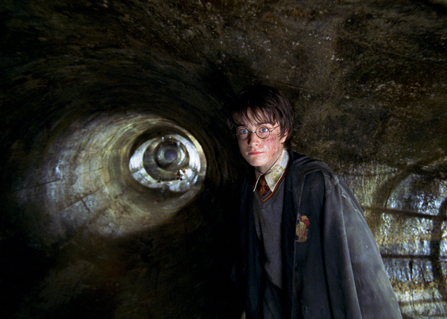 "DANIEL RADCLIFFE stars as Harry Potter in Warner Bros. Pictures' ""Harry Potter and the Chamber of Secrets.""	REVIEW-JOURNAL FILE PHOTO  PHOTOGRAPHS TO BE USED SOLELY FOR ADVERTISING, PROMOTION, PUB ..."