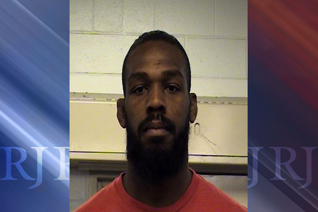 Former UFC light heavyweight champ Jon Jones. (Bernalillo County Detention Center)