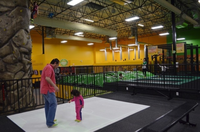 Rockin' Jump Las Vegas, a new indoor trampoline sports park at 7200 Montessouri St., Suite 160, offers a three-story climbing wall, a projection screen play mat and a space where guests can boun ...