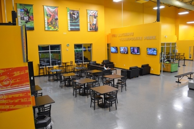 Parents can relax in a lounge area with free Wi-Fi at Rockin' Jump Las Vegas, a new indoor trampoline sports park at 7200 Montessouri St., Suite 160. Ginger Meurer/Special to View