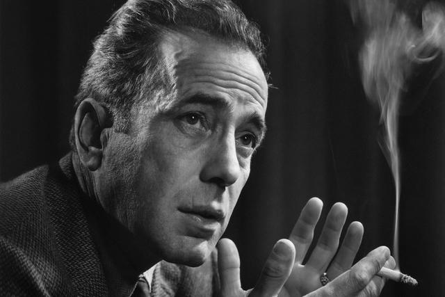 Humphrey Bogart, 1946 by Yousuf Karsh (Courtesy/Bellagio Gallery of Fine Art)