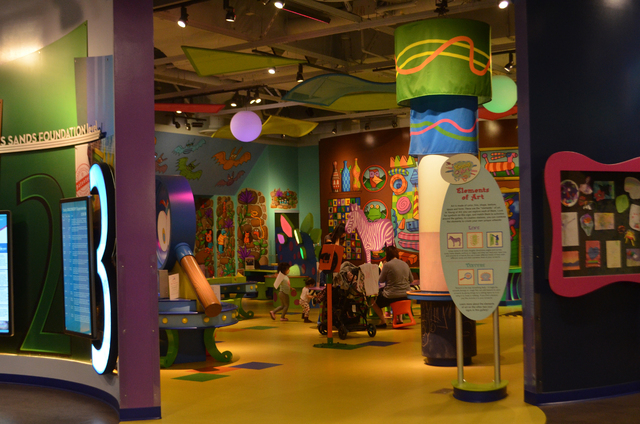 The Discovery Children's Museum, 360 Promenade Place near The Smith Center for the Performing Arts, is a short drive from the Strip. Ginger Meurer/Special to View