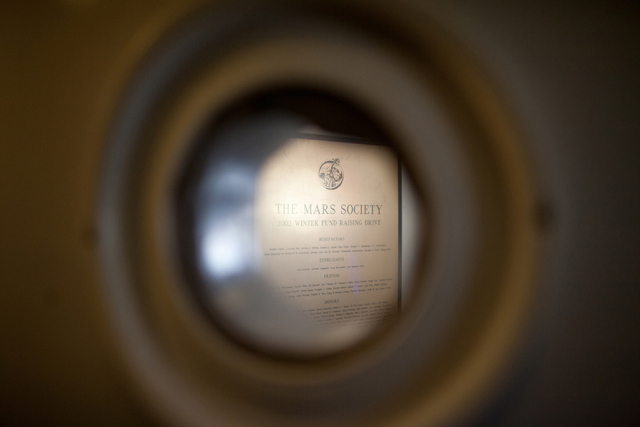 A door inside the Hab at the Mars Desert Research Station in Eastern Utah is shown Wednesday March 16, 2016. Randi Lynn Beach/Las Vegas Review-Journal